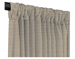 Sunbrella Canvas Outdoor Drapes and Curtains