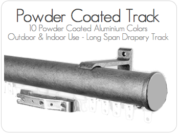 Powder Coated Drapery Track