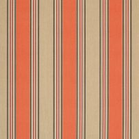 Sunbrella Canvas Passage Poppy Stripe 56071-0000 outdoor fabric for outdoor drapes and outdoor curtains