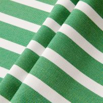 Genuine Sunbrella 58035-0000 Shore Stripe Emerald, Outdoor Fabric